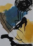 Mineral with Farben 2010 by Dianna Brinsden, Painting, Acrylic and Ink on paper
